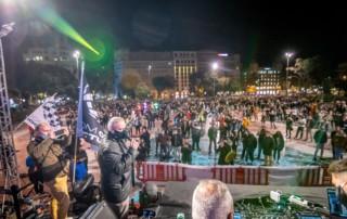 Acto de protesta Plaza Catalunya