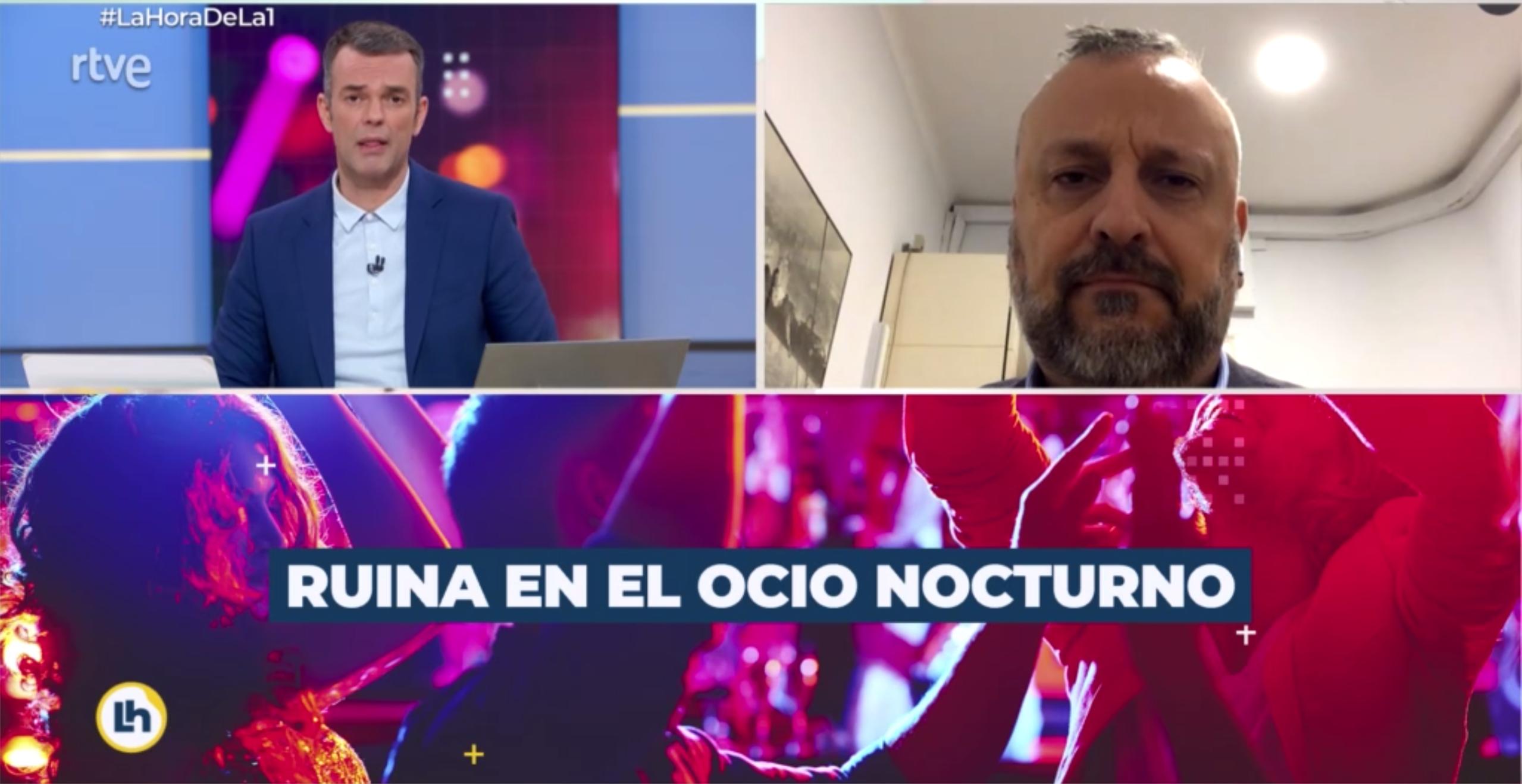Ramón Mas entrevistado en rtve
