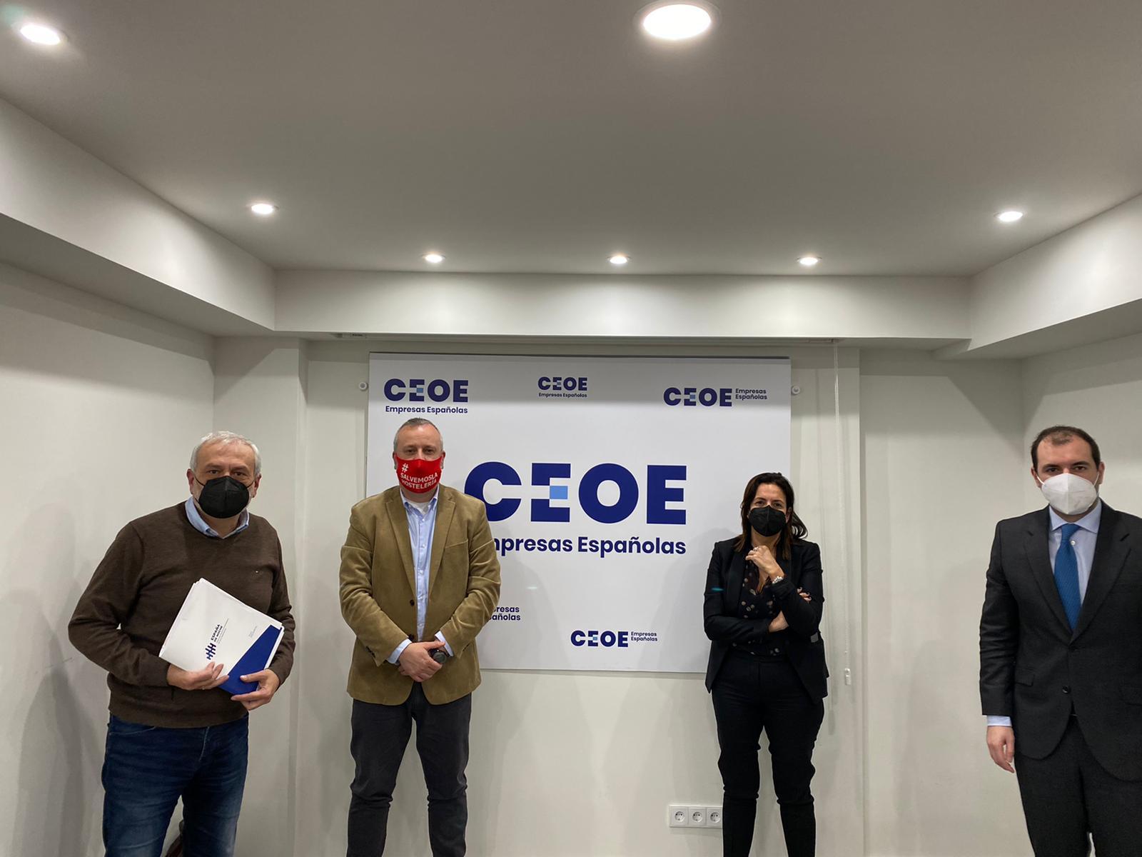 Reunión con CEOE
