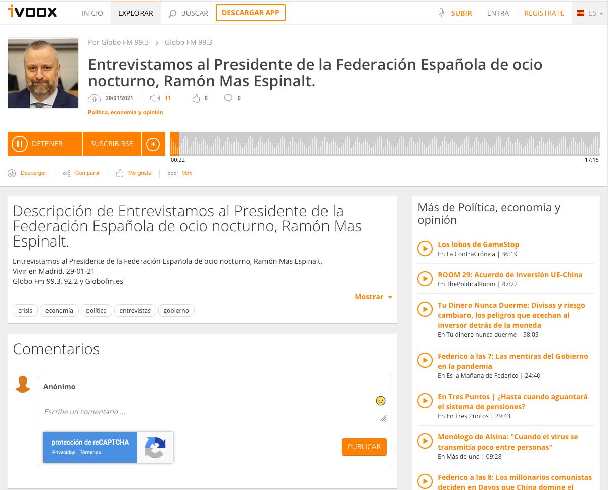 Entrevista a Ramón Mas en Globo Fm.PNG
