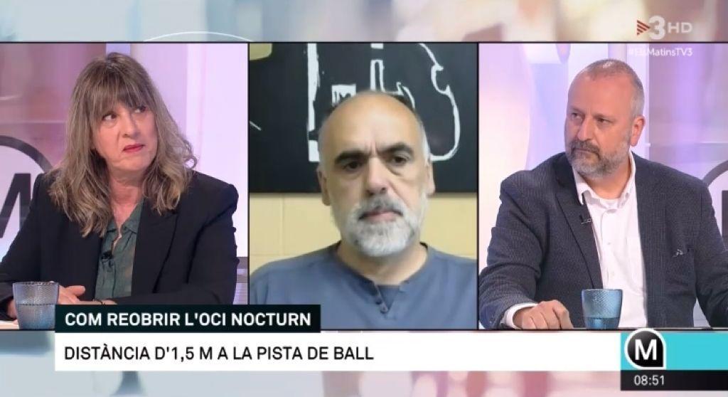 """Ramón Mas: """"Los locales de ocio nocturno queremos abrir con seguridad jurídica"""""""