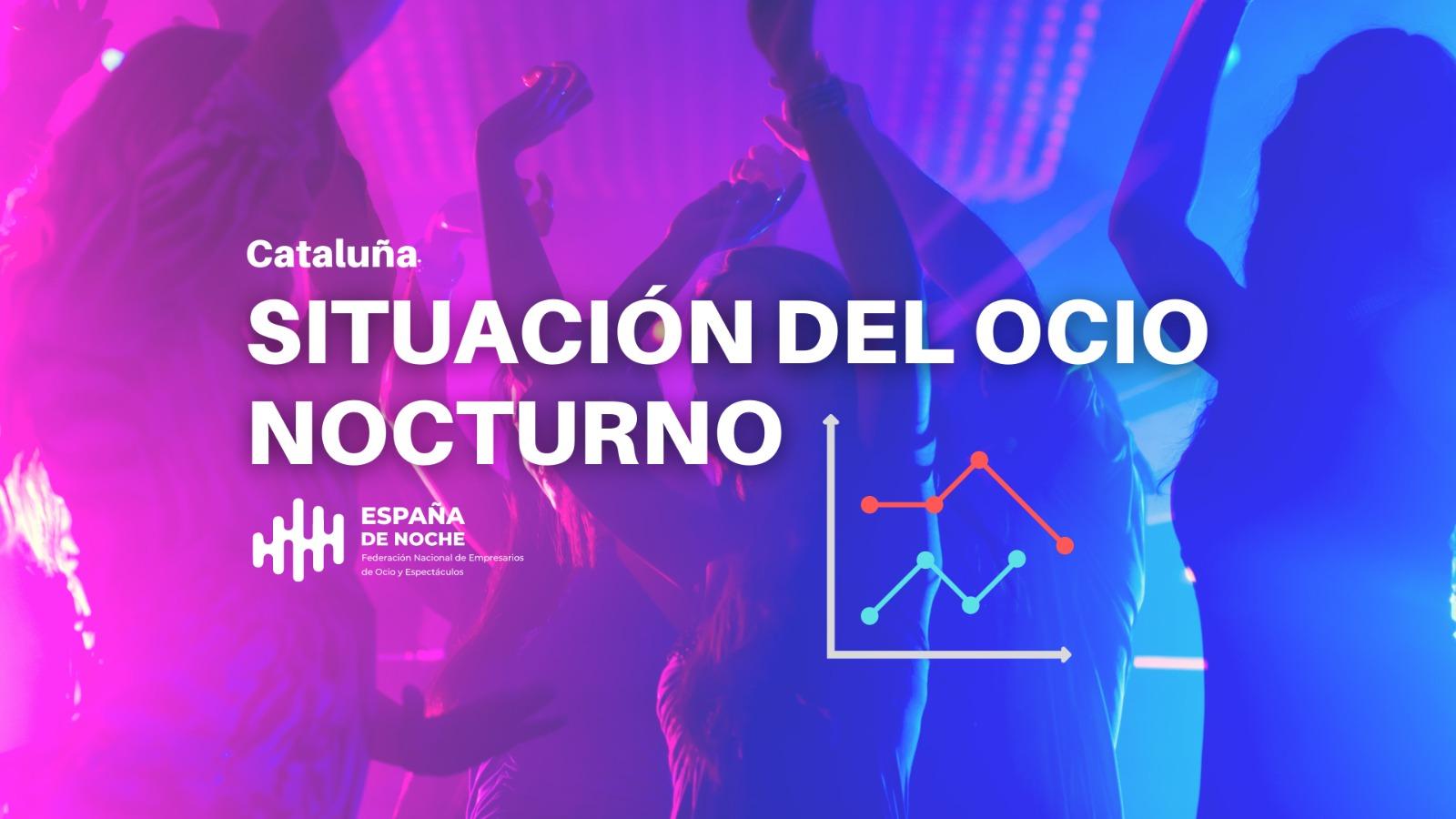 Un estudio realizado por la Federación Nacional de Empresarios de Ocio y Espectáculos (ESPAÑA DE NOCHE), evidencia la situación actual del ocio nocturno en Cataluña