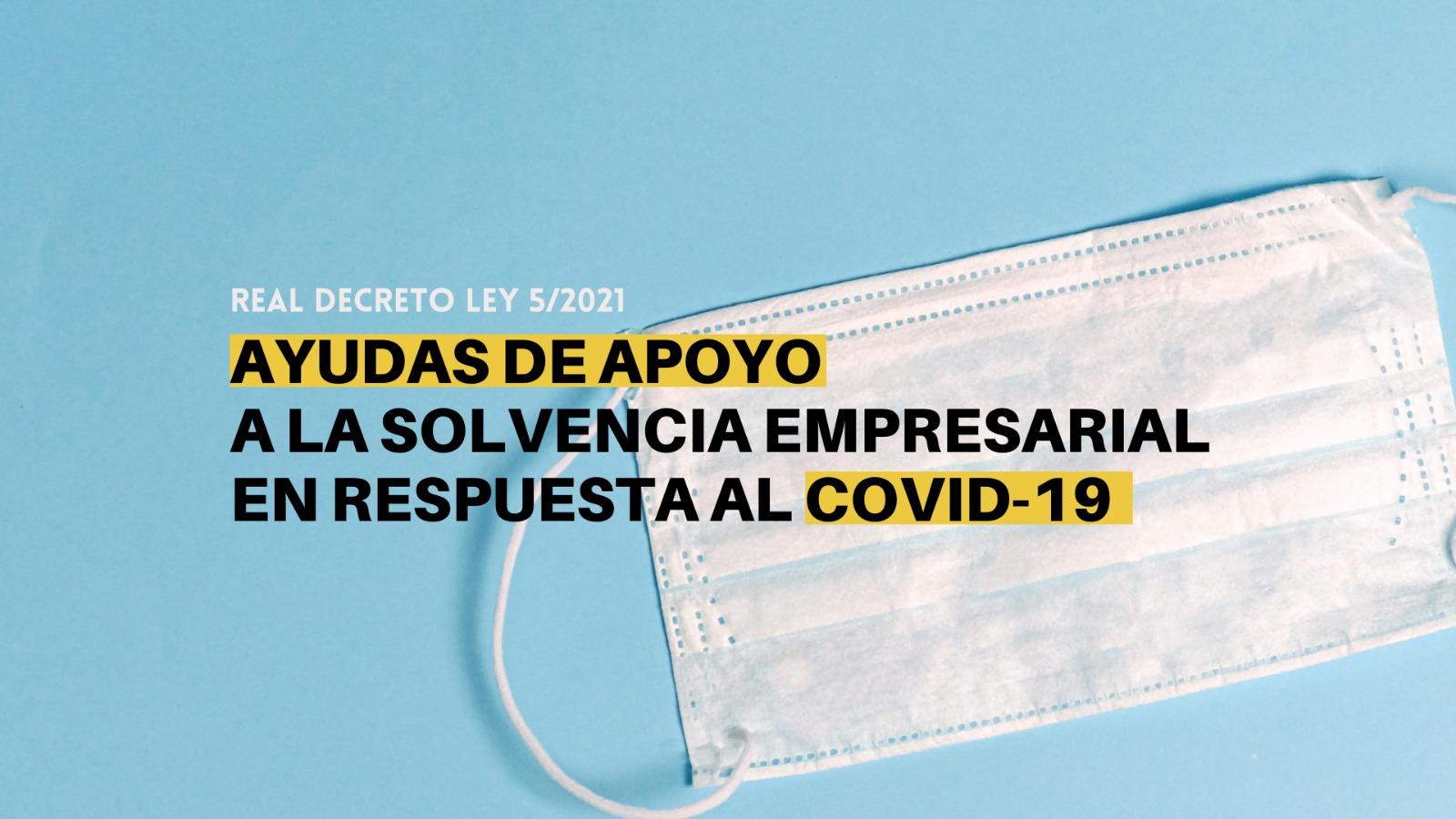 Inscripción a las ayudas a empresas en respuesta al COVID-19